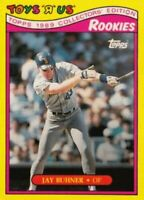 """1989 Topps Toys """"R"""" Us Rookies Baseball #5 Jay Buhner Seattle Mariners"""