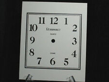 Vintage Clock Face Renaissance Square Mantle Grandfather Wall Repair