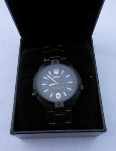 Zippo Armbanduhr schwarz