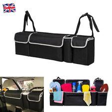 2 in1 Car Trunk Accessories Multiuse Organizer Backseat Storage Bag Oxford Cloth