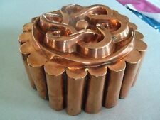 Moule à gâteau ou à entremet en cuivre, milieu 19ème