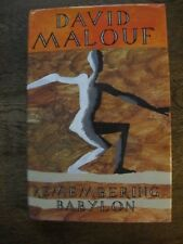 Remembering Babylon - David Malouf *SIGNED* - Australian Historical 1st Ed Hc/Dj