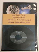 MST3K Play MSTie For Me Triple Decker DVD Songs of Mystery Science Theater 3000