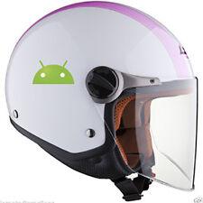 2 Adesivi ANDROID Stickers Tuning  x muro,specchio, parete, auto,casco,moto (m10