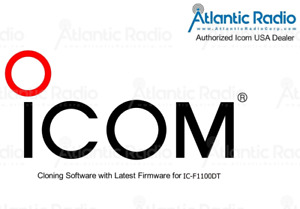 Icom IC-F1100DT Cloning Software & Latest Firmware F1100DT Programming Software