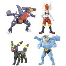 Bandai SHODO Pokemon 4 Action Figure Garchomp Cinderace Umbreon Machamp