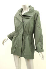 ANORAK Army Green Water Resistant Rain Jacket S
