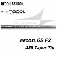 6 Shafts - 5-W Set Ust Mamiya Recoil 65 F2 Taper Tip 0.355 Irons A Flex