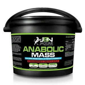 ANABOLIC MASS 4KG *WEIGHT GAINER*WHEY PROTEIN*HIGH CALORIE*