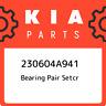 230604A941 Kia Bearing pair setcr 230604A941, New Genuine OEM Part