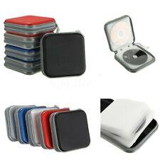 40 Discs CD DVD Hard Storage Case Album Organizer Holder Wallet Double-side US