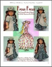"""Frous Frous"" Fashion Pattern for American Girl dolls"