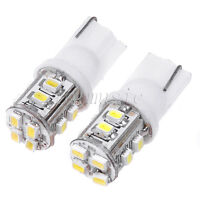 2*T10 12 SMD 1210 LED Car Wedge Side Lights Lamp Bulb 12V White