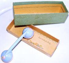 Vintage Retro Toy Phone Receiver Pink Blue Plastic Baby Rattle Orig Box