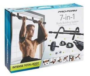 PROFORM 7-in-1 Body Building System Full Body Workout Fitness Home Door Gym