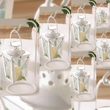 6 Mini Lantern Small Candleholder Baby Shower Decor Wedding Centerpieces