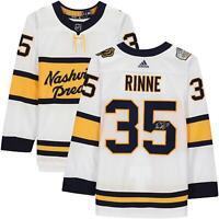 Pekka Rinne Nashville Predators Signed 2020 NHL Winter Classic Authentic Jersey