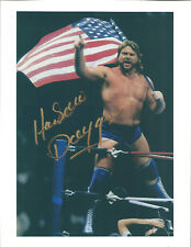 m531 Hacksaw Jim Duggan signed 8x10 wrestling photo /Coa