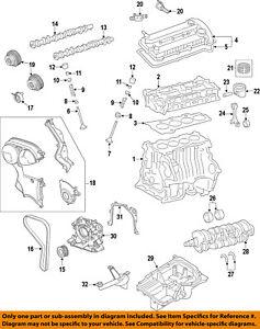 FORD OEM 11-16 Fiesta-Crankshaft Crank Gear BE8Z6306AD