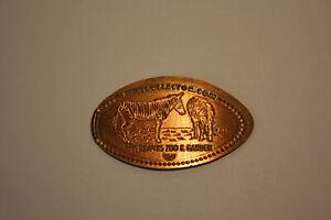 Elongated coin, Sammlermünze,Zoo & Garden,Zebra,USA