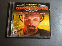 Command & Conquer Yuri's Revenge Red Alert 2 Expansion PC Game 2001 w/ CD Key