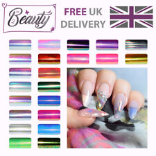 Angel Paper / Broken Shattered Glass Nails Holographic Mirror Multi - 22 colours