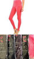 Quality Women Soft Smooth Cable Knit Footless Stretch Legging Pants One Size