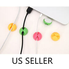 Cable Clips 6/pack Desktop Wire Clip Holder