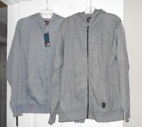 Phat Farm mens full zip basic hooded jacket pouch pockets Style:PFX-90-2937 NWT