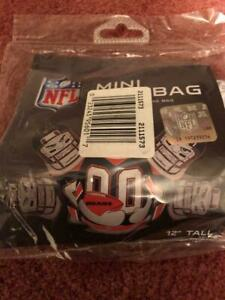 """CHICAGO BEARS MINI BOP BAG INFLATABLE PUNCHING BAG 12"""" TALL SAND WEIGHTED."""