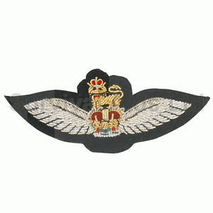Army Air Corps NCO and Officer Black Mess Dress Wings