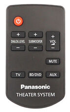 Genuine Panasonic Remote Control For SC-HTB20EB-K SC-HTB20EB-K SC-HTE50EB-K