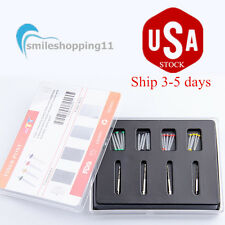 USA--3 Boxes Dental Fiber Post 20 pieces with 4 Drills Straight Pile best price