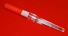 1 x 14gauge Catheter Body Piercing Needle Sterilised & 1 Medi Swab 14g 14 gauge