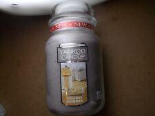 Yankee Candle Usa Deerfield Rare Holiday Shimmer  Large Jar