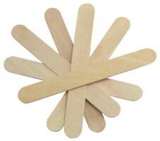 "500ct 6"" Wood Tongue Depressors Large Wooden Waxing Spatula Wax Stick Craft"
