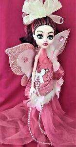 Aria an ooak monster high doll fairy butterfly custom repaint