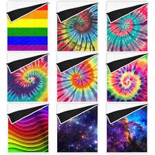 Tie Dye Rainbow Reduce Anxiety Ultra Soft Blankets Sensory Heavy Gravity Quilts