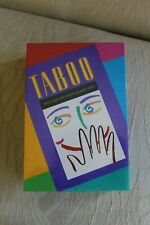 TABOO Game; Vintage 1989 New in the box