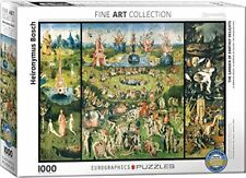 "Garden Of Earthly Delights Jigsaw Puzzle, 26.5""L Us 1K-Pcs Bosch Museum Fine Art"