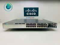 Cisco WS-C3750X-24P-L • 24-Port PoE+ 3750X Gigabit Switch ■Same Day Shipping■