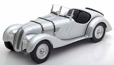 Minichamps 1936-1940 BMW 328 Roadster Silver Color in 1/18 Scale New! In Stock!
