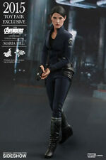 """Maria Hill The Avengers Age of Ultron 1/6 Marvel MMS305 12"""" Figur Hot Toys"""