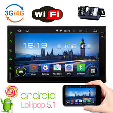 "7"" Android 5.1 Car Autoradio 4-Core Double 2Din Stereo Head Unit GPS Navigation"