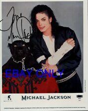 """MICHAEL JACKSON """"AUTHENTIC""""  AUTOGRAPH PHOTO, ORIGINAL HAND SIGNED,VINTAGE COLOR"""
