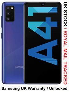 Samsung Galaxy A41 SM-A415F/DS - 64GB - Prism Crush Blue Unlocked Dual SIM UK