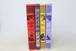 Lot of 4 Barnes and Noble Leather Bound Children's Classics -  HC