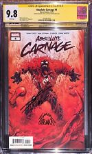 Absolute Carnage 4 CGC SS 9.8 Signed Donny Cates & Ryan Stegman