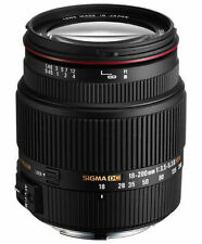 Sigma SLR Kamera-Objektive mit Canon EOS-Anschluss