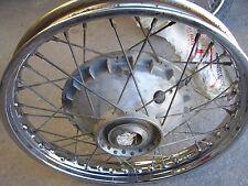 bsa 71 500 BSA B50 ss 500 Goldstar used 18'' Jones front wheel vintage